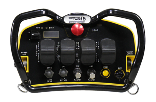 The LP is a lightweight transmitter available with up to four (4) paddles. The stepless paddles are individually sealed with neoprene rubber boots.