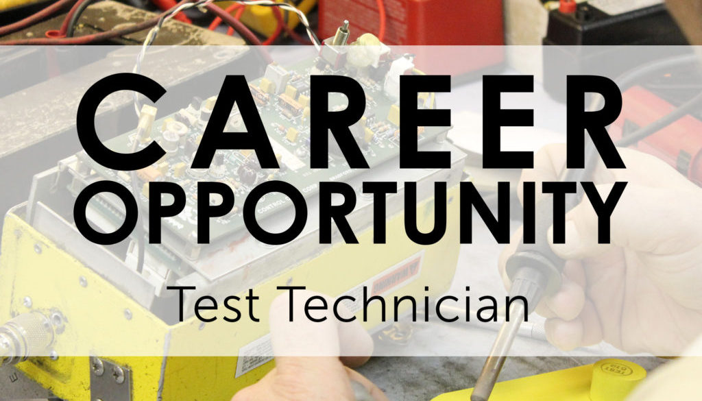 Career Ops - Test Technician
