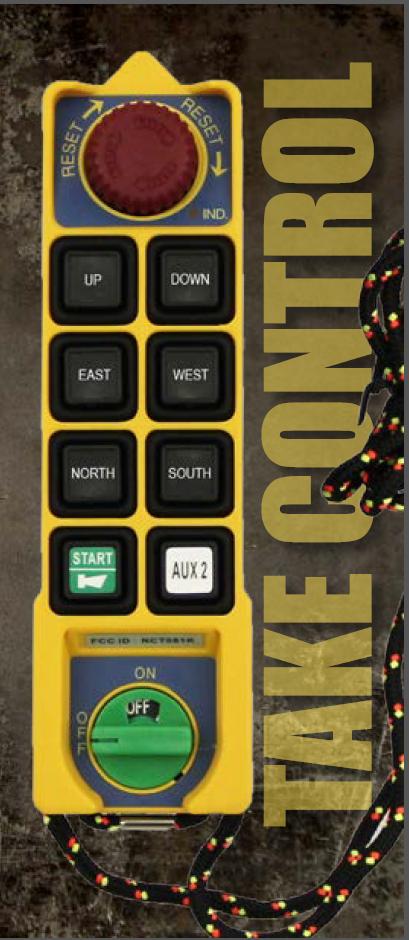 Industrial remote controls - Summit Series - Control Chief