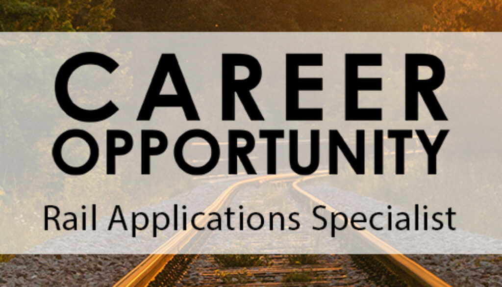 Careers at Control Chief - Rail Applications specialist